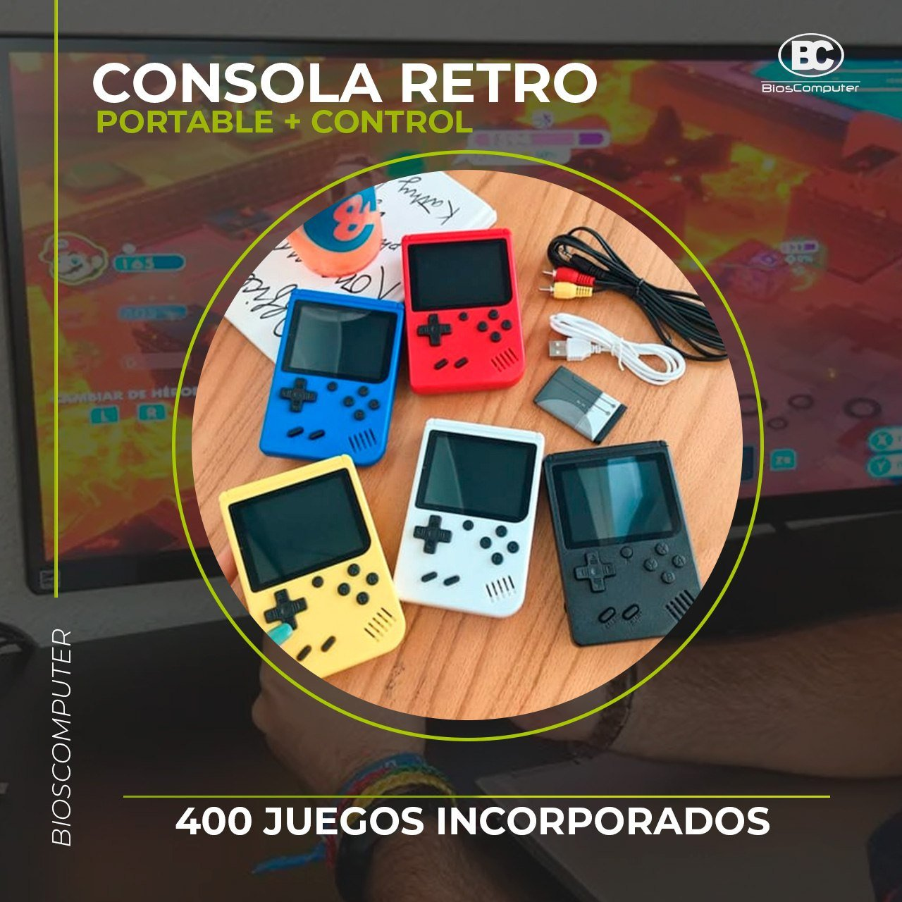CONSOLA RETRO PORTABLE