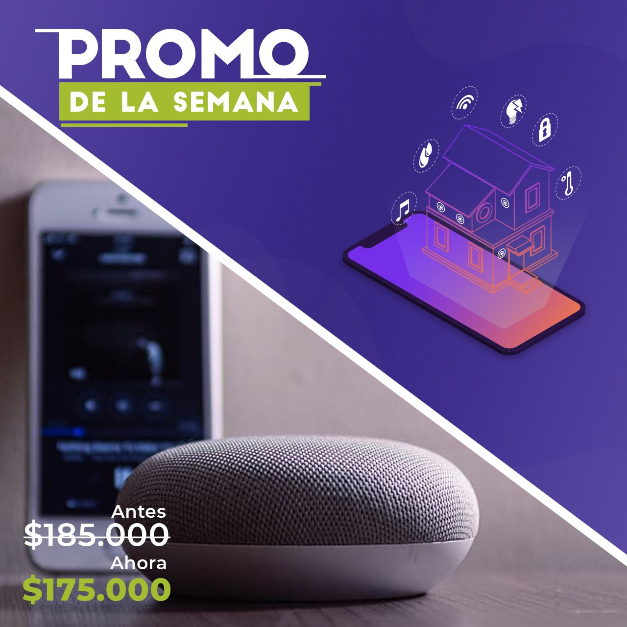 Google Home Mini #PromoDeLaSemana