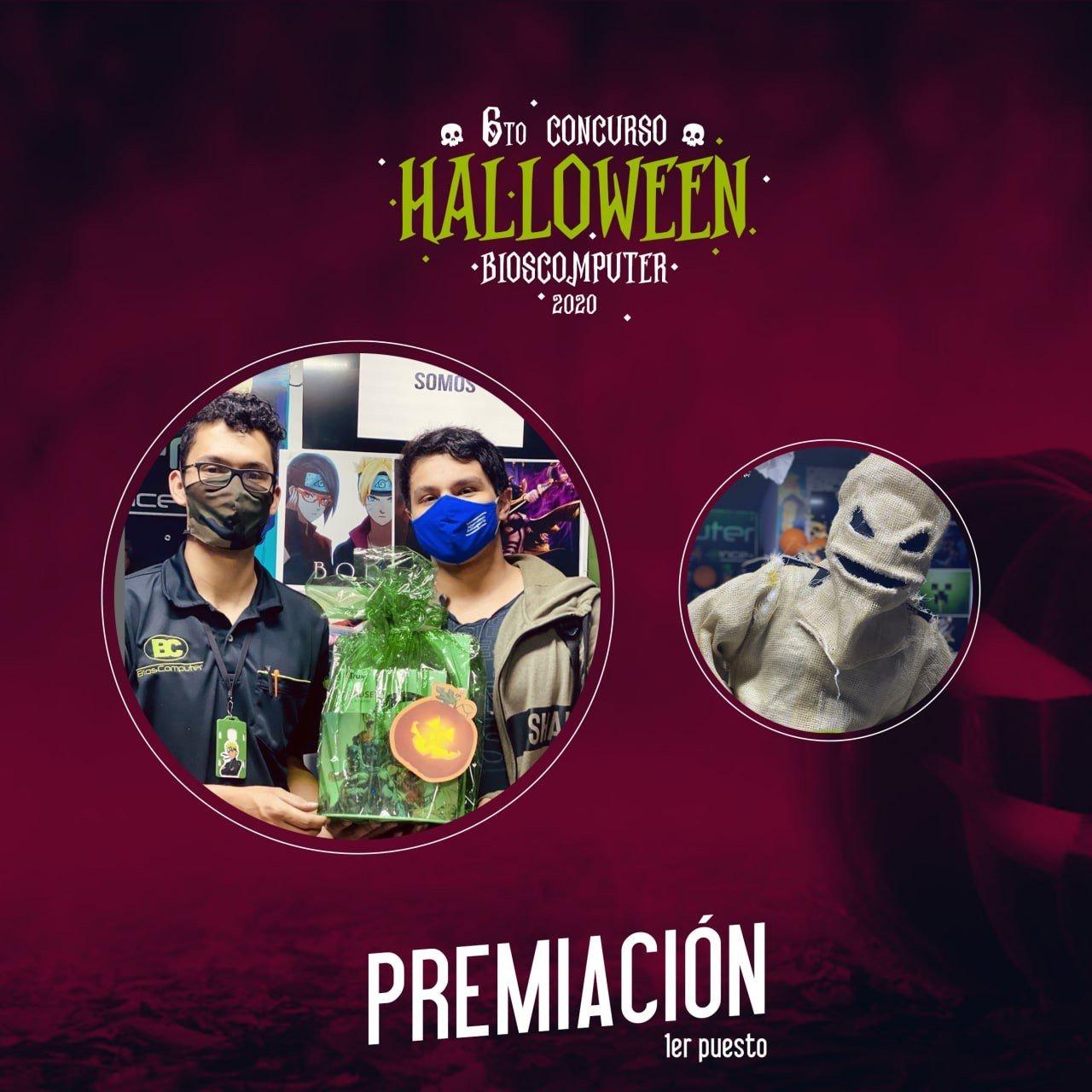Ganador Concurso HalloweenBC