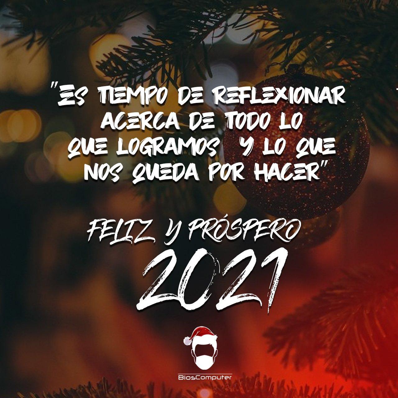 Feliz Navidad y Próspero 2021