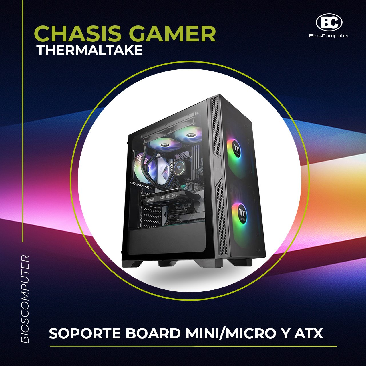 CHASIS THERMALTAKE VERSA T25 TG