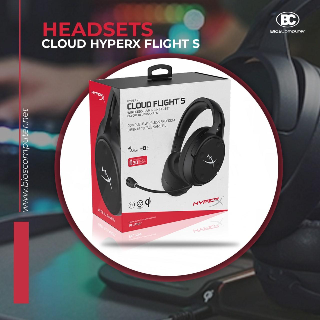 Headsets HyperX FlighS