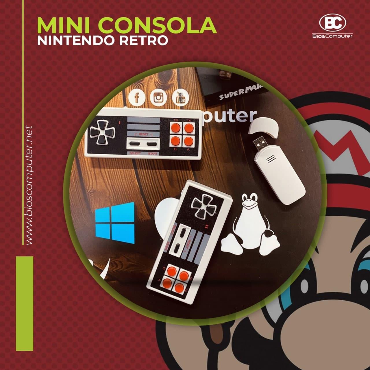 MINI CONSOLA 8BITS