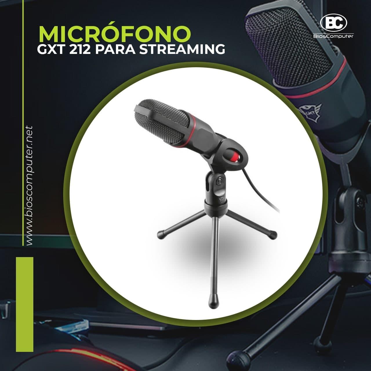 Micrófono Trust Para Streaming