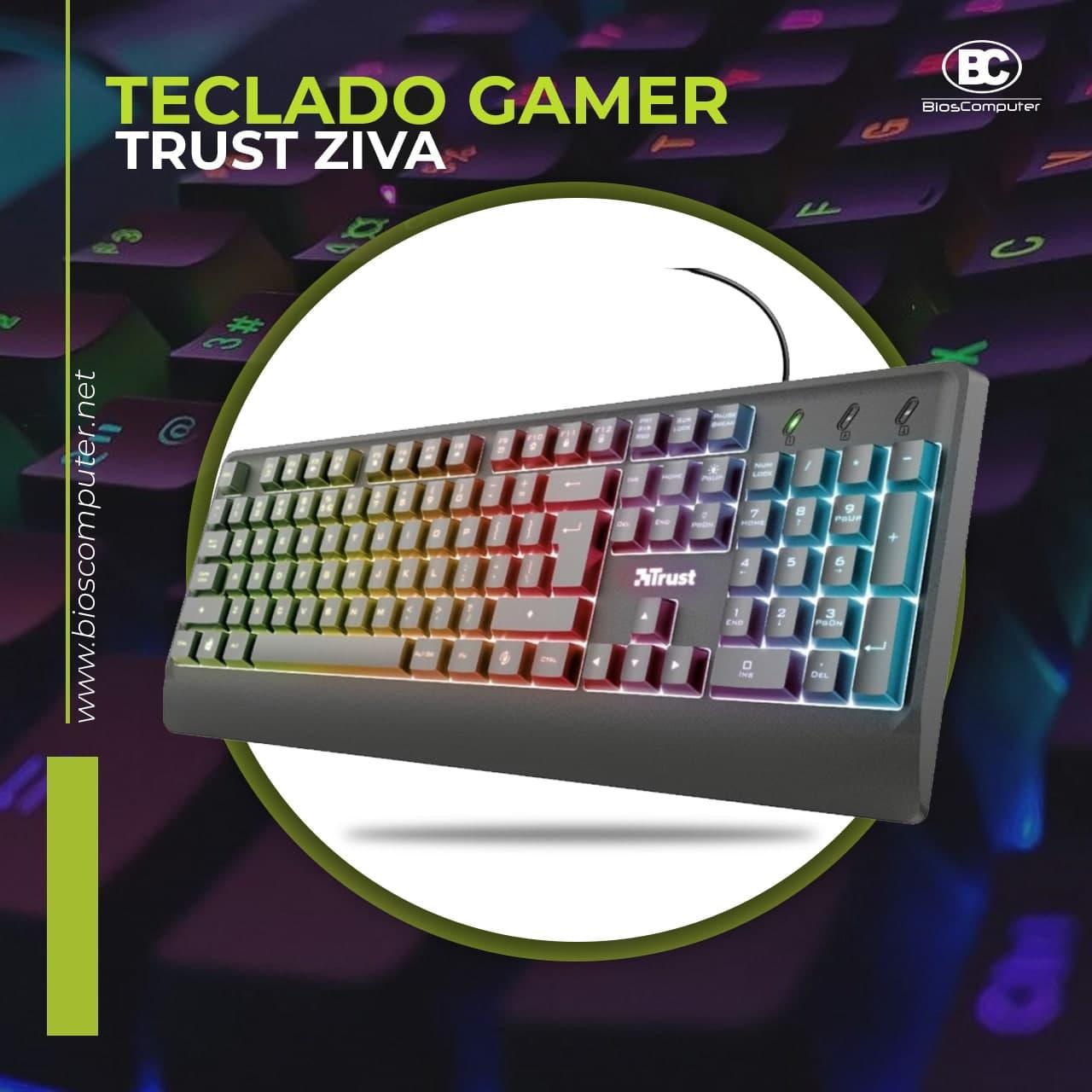 Teclado Gamer Trust Ziva